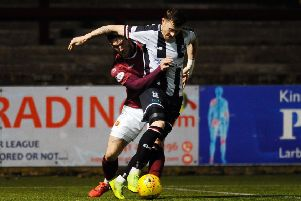 Raith Rovers have been linked with a move for Elgin City forward Shane Sutherland. Pic: Michael Gillen