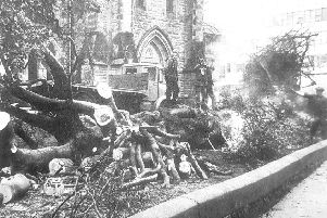 1976: Kirkcaldy battered by winter storms
