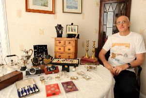 Julian Brook  is holding an antiques, collectables and retro fair for the first time at the Adam Smith Theatre. Pic: - WALTER NEILSON