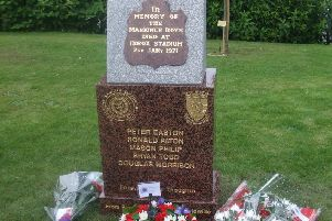 The Markinch'tribute to the Ibrox Disaster