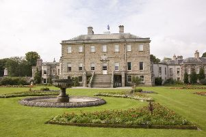 An exterior view of Haddo House. Summer 2008.