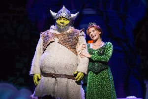 Almost time for Shrek to arrive in Granite City