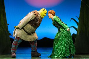 Shrek the Musical will run at His Majesty's Theatre for three weeks