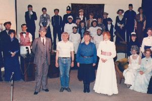 The Fraserburgh Musical Society in their 1989 production of My Fair Lady