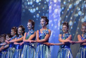 Members of Fraserburgh Academy's  2017 Schools Rock Challenge who sang and danced their way on Saturday to the Scottish finals.