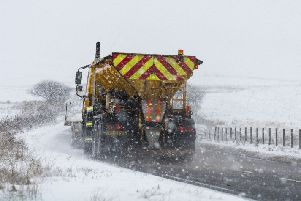 The Met Office have warned that ice is on the way. Picture: PA