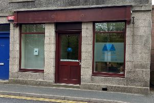 The new Aberdeenshire Voluntary Action (AVA) office on Ellon's Station Road