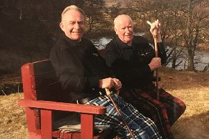 Allan Thomson and Bob Wallace on the cover of their new CD