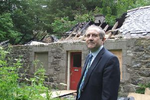 "Councillor Jim Ingram described the incidents as ""sheer wanton vandalism"""