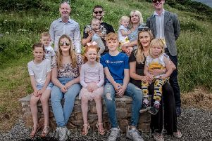 Family gather for bench unveiling