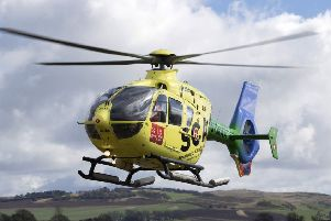 Scotland's Charity Air Ambulance relies entirely on public donations to help fund the hundreds of life-saving missions its carries out every year. (Photo courtesy of SCAA)