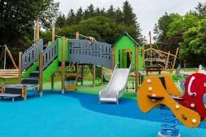 Children will be able to enjoy the new play facilities at Aden Country Park following an official opening of the play area