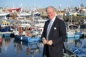 Stewart Stevenson says rather than following through on their pledge of a 'sea of opportunity', the Tories are instead serving the fishing industry up as bait.
