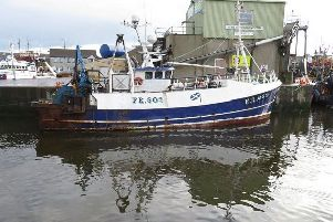 The accident on the Artemis happened in April when the boat was docked in Northern Ireland for repairs. Pic: MAIB