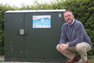David Duguid says that up to 18% of households in Banff and Buchan still do not have access to superfast broadband.