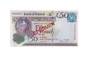 Bank of Ireland �50 note (Photo: Bank of Ireland)