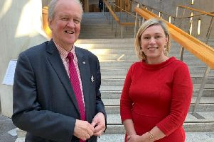 MSPs Stewart Stevenson and Gillian Martin have welcomed the figures.