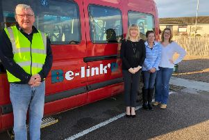 The Be-Link'D schemewas launched onFebruary 3 andis being funded by Fairer Aberdeenshire Fund.