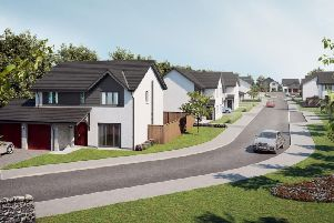 The development is for 100 new homes and is part of a wider long-term masterplan which includes retail and commercial development to increase facilities and investment in the area.