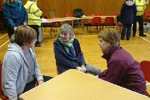 Nicola Sturgeon visits Newton Stewart to witness flooding devastation