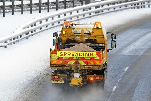 Galloway gritting crews on stand-by