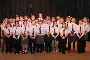Primary School Choirs (1-3 Teachers) class 49 competing for Lindsay Singers Trophy 1st Glenluce Primary Choir
