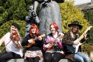 Maidens of Music,  Jo Smith, Lizzie Birkett, Alix Adair, Linzie Watson.