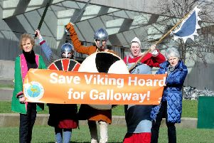 Accusations fly over Galloway Hoard