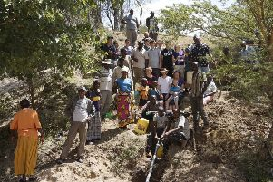 The scouts on their last trip to Kenya in 2015.