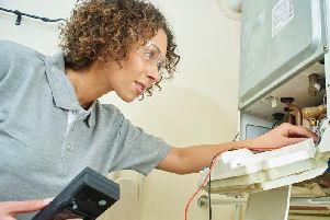 At your service...gas engineers, plumbers, painters, electricians and builders can spend hours, if not days, in customers' homes and often see more than just the job they're called out to do, which is why It's Your Call has been developed.