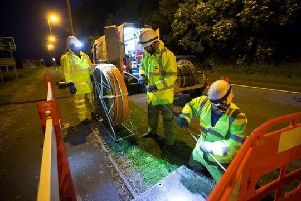 The average broadband speed in Dumfries and Galloway is 11.8 megabits per second.