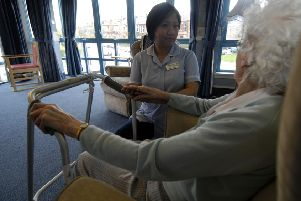 Treatment for our elderly population is the subject of  innovative  new methods being developed in Dumfries and Galloway say the NHS