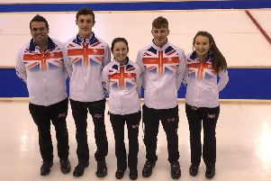 Stranraer curler Robyn Munro in Team GB youth team that won curling gold at European Youth Olymipc Festival in Sarajevo
