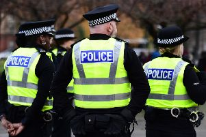 Police searched a number of addresses in the Galloway area