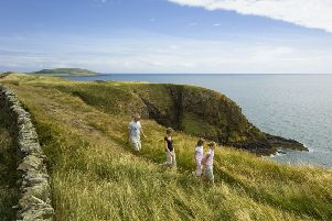 The Galloway coastline looks beautiful but walking through it might be hazardous, claim Friends of the Earth