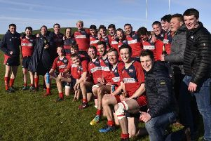 Newton Stewart side that won promotion to National League Two''Team (picture: BB Photography)