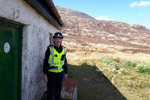 Police launch Bothywatch in Galloway Hills. July 2019