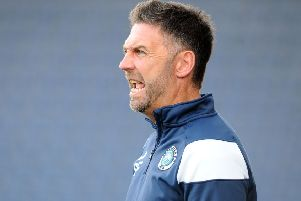 Blues boss Stevie Farrell