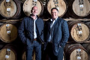 Rare Whisky 101 co-founders Andy Simpson and David Robertson (Photo: Fraser Band)