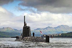 The Royal Navy's submarines are called 'The Silent Service', aptly says Emma Harper. Pic: Thomas McDonald