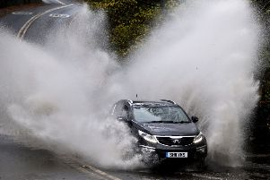 Drivers are warned to take extra care this week as more rain is expected.