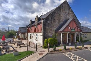 The former Hurlet Carvery in Barrhead - an appeal has been lodged against the decision to refuse planning permission to turn it into a funeral parlour.