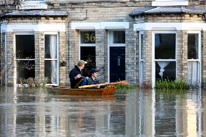 Hopefully the amber weather warning for Wednesday won't see the type of flooding in York where this image was taken.