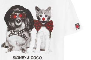 Sidney & Coco exclusive design t-shirt for Red Nose Day