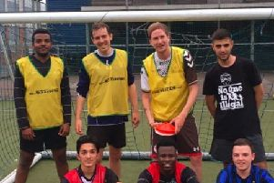 New programme aims to make footie an inclusive sport for local refugees