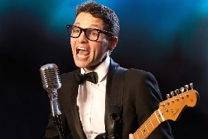 Buddy Holly and the Cricketers tribute playing at Eastwood Park