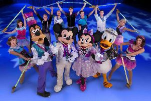 The Disney on Ice spectacular is returning to Glasgow