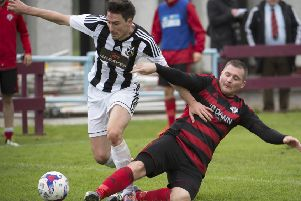 Half-time substitute Willie Sawyers helped Rob Roy back into the match