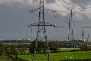 Electricity supplies in G77 have been affected. Picture John Devlin