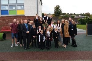 St Mark's Primary School celebrate strong inspection report